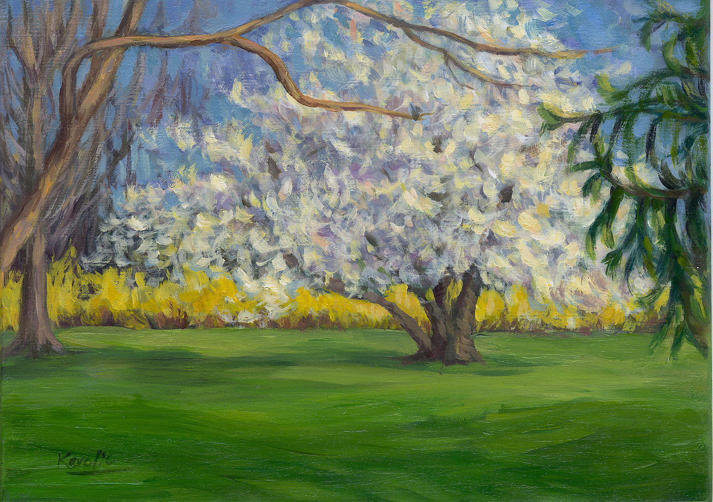 Springtime for Spring canvas paintings